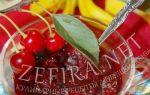 Вишня с желатином на зиму: рецепты
