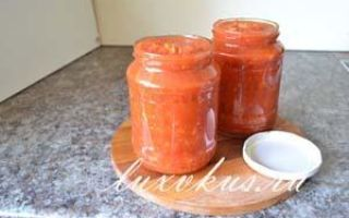 Аджика с яблоками: рецепты приготовления на зиму