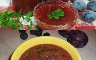 Ткемали из помидоров на зиму: рецепты вкусных соусов с фото