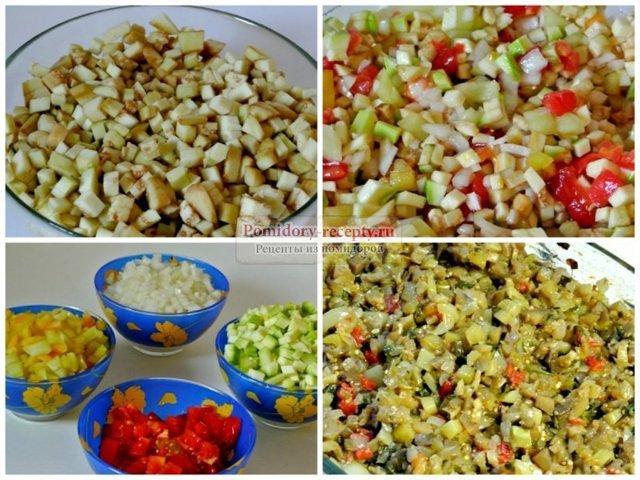 Баклажанная икра с томатной пастой: рецепт приготовления