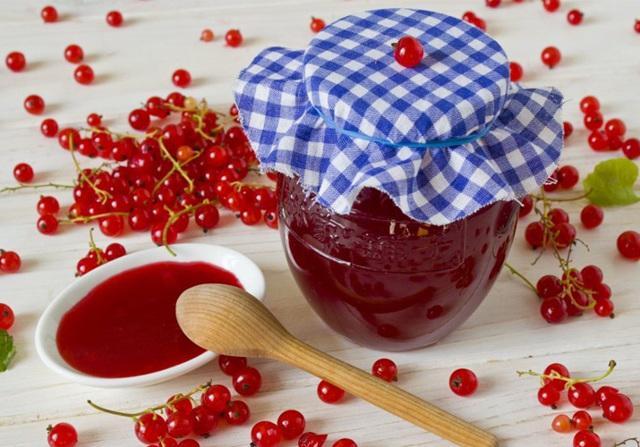 Желе из красной смородины на зиму без варки: холодным способом, сырое, живое