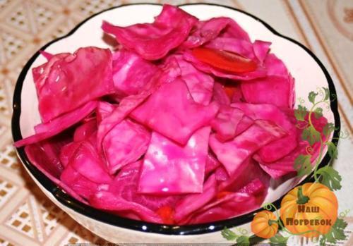 Квашеная капуста со свеклой: пошаговый рецепт быстрого приготовления
