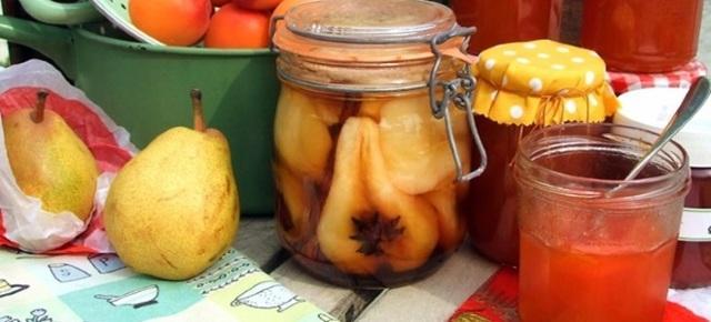 Маринованные груши на зиму: рецепты без стерилизации, с лимонной кислотой, по-польски