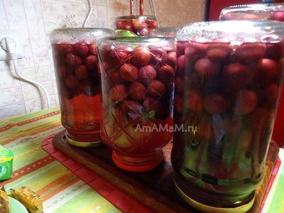 Компот из черники на зиму: простые рецепты без стерилизации, с апельсином, с красной смородиной, с малиной