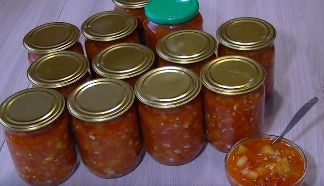 Лечо из кабачков на зиму без стерилизации: классический рецепт