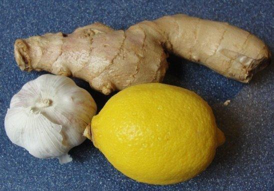 Лимон, чеснок и имбирь: польза, рецепты для чистки сосудов, похудения