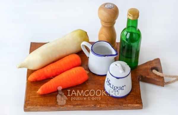 Дайкон на зиму: очень вкусные рецепты с морковью, сладким перцем