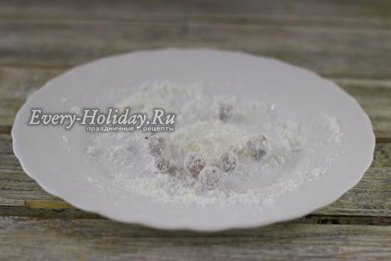 Клюква в сахаре – рецепт в домашних условиях