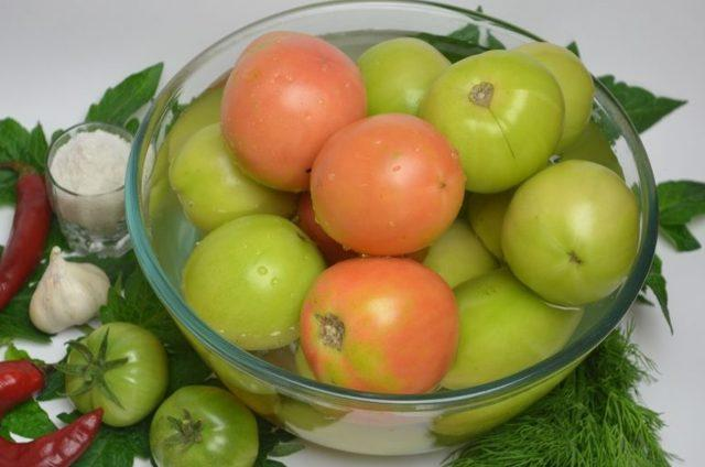 Зеленые помидоры по-армянски: самые вкусные рецепты на зиму