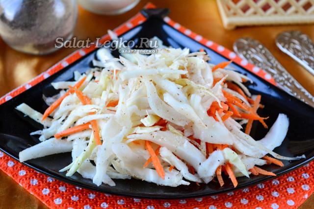 Маринованная капуста по-корейски быстрого приготовления: пошаговый рецепт