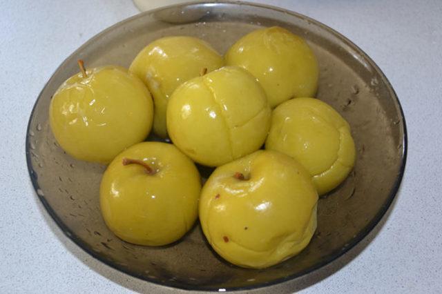 Моченые яблоки в ведре: рецепты на зиму