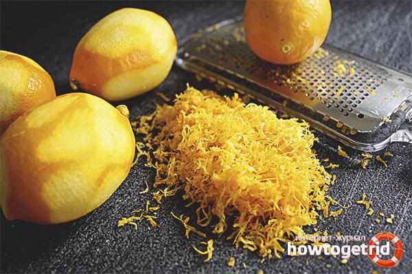Кожура лимона: польза и вред для организма человека, применение