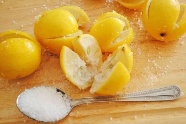 Лимон с солью польза и вред. Лимон с солью: рецепты, польза и вред