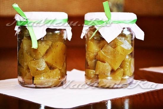 Мармелад из груш: простые рецепты приготовления с фото, с агар-агаром, желатином