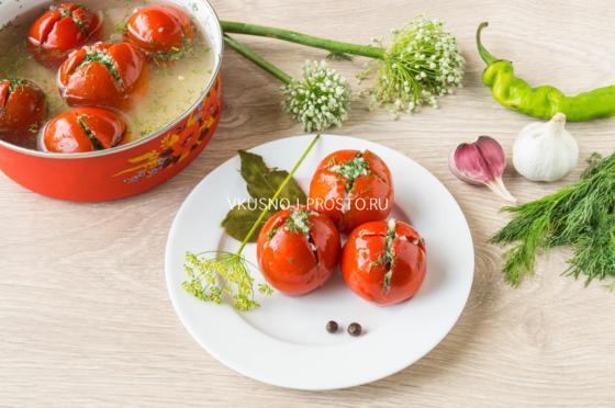 Помидоры Армянчики быстрого приготовления в кастрюле: рецепт с фото, отзывы