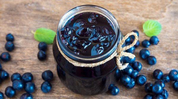 Джем из черники на зиму: простые рецепты с фото, видео, вкусный, густой, пятиминутка