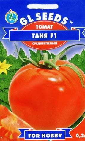 Томат Таня f1: описание сорта, фото, отзывы