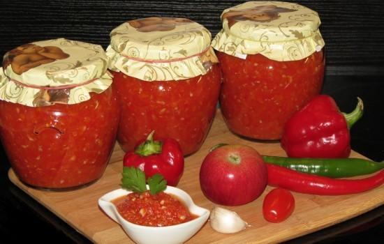 Аджика из тыквы: рецепт приготовления