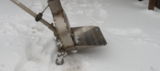 Снегоуборщик из триммера своими руками: как сделать, чертежи, видео