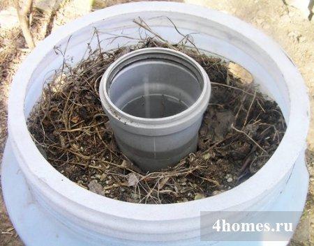 Выращивание клубники в бочке + фото