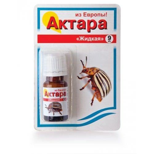 Актара от колорадского жука + отзывы