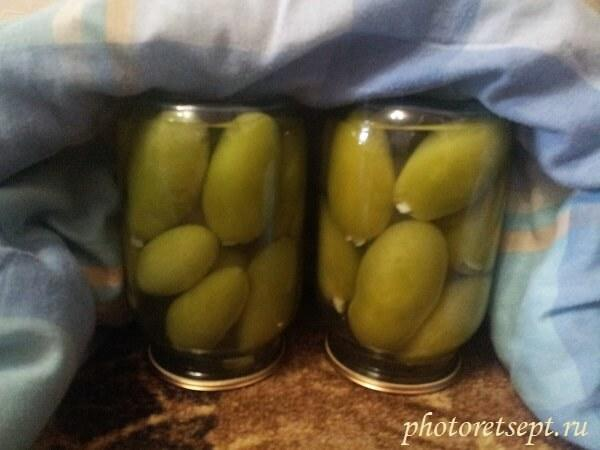 Маринованные зеленые помидоры с чесноком быстрого приготовления: вкусные рецепты