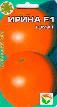 Томат Ирина: характеристика и описание сорта, урожайность, отзывы, фото