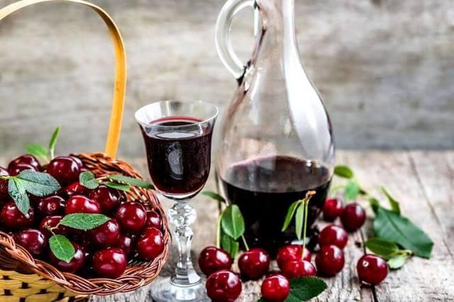 Вино из черешни