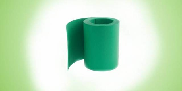 Пластиковая лента для грядок на даче