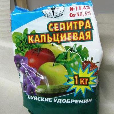 Удобряем томаты селитрой