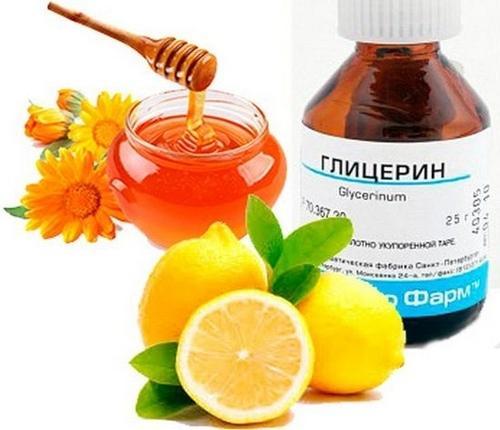 Лимон с глицерином и медом от кашля: рецепты, польза и вред, отзывы