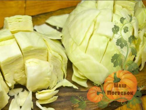 Квашеная капуста с уксусом: рецепт быстрого приготовления