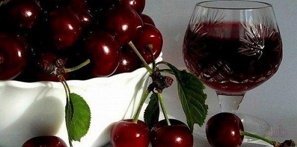 Вишневое вино в домашних условиях: простой рецепт