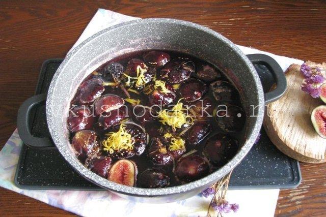 Джем из инжира: рецепты приготовления с фото, на зиму, из свежего, из сушеного