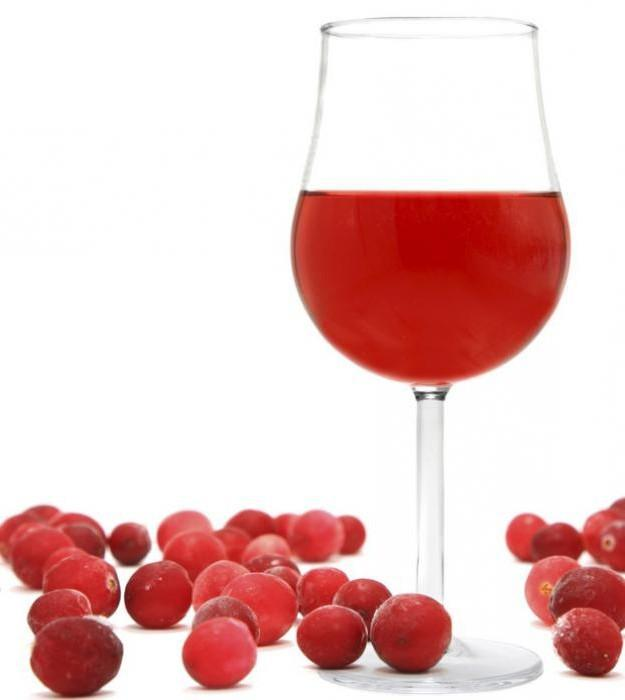 Вино из клюквы