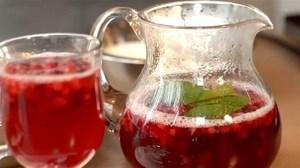 Компот из клюквы: рецепт из замороженных ягод