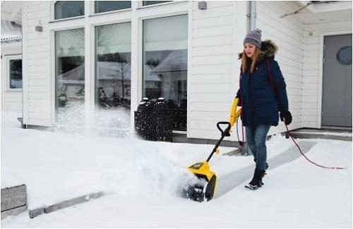 Электролопата для уборки снега