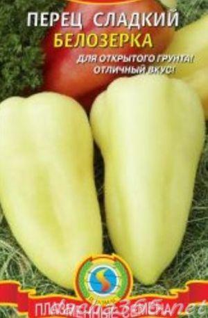 Сорт перца Белозерка