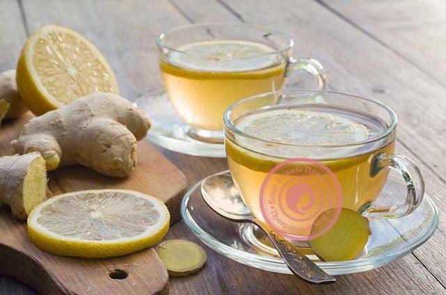 Чай с имбирем и лимоном: как заваривать, рецепты для похудения, от простуды