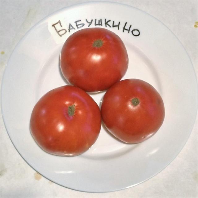 Томат Бабушкино: характеристика и описание сорта