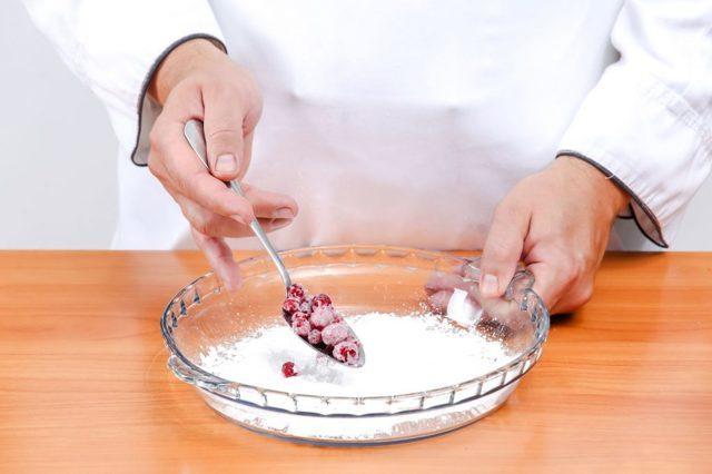 Клюква, протертая с сахаром: рецепт без варки